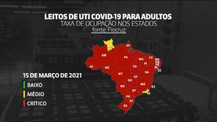 Fiocruz: 'Maior colapso sanitário e hospitalar da história do Brasil'