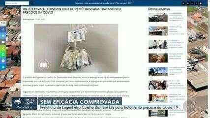 Prefeitura de Engenheiro Coelho distribui 'kit Covid' para pacientes sintomáticos