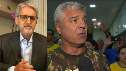 Valdo: Major Olímpio se contaminou pela Covid-19 em uma reunião de senadores com prefeitos