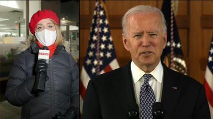 Biden e 100 milhões de doses aplicadas: 'A ciência voltou'