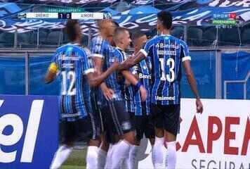 Veja os melhores momentos de Grêmio 2x0 Aimoré pela 5ª rodada do Gauchão