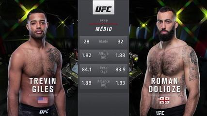 UFC Brunson x Holland - Trevin Giles x Roman Dolidze