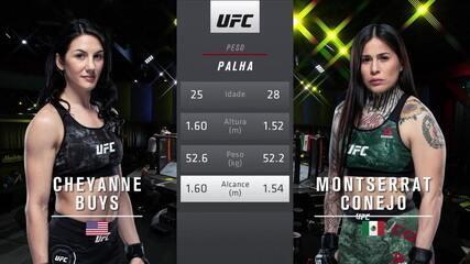 UFC Brunson x Holland - Cheyanne Buys x Montserrat Ruiz