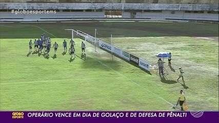 João Paulo marcou gol de falta diante do Aquidauanense, na quinta rodada do estadual