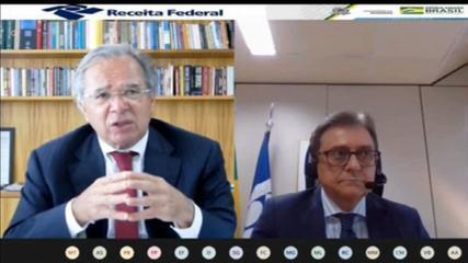 Paulo Guedes: precisamos vacinar todos os informais em 3 ou 4 meses