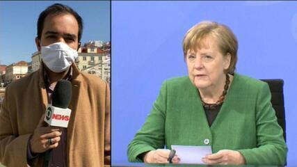 Merkel prorroga lockdown na Alemanha até 18 de abril