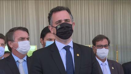 Pacheco: 'Essa reunião significa um pacto nacional liderado por quem a sociedade espera que lidere'
