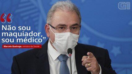 'Não sou maquiador, sou médico', diz Marcelo Queiroga