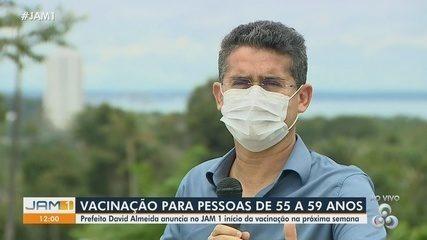 Prefeito de Manaus fala sobre campanha de vacinação contra a Covid-19