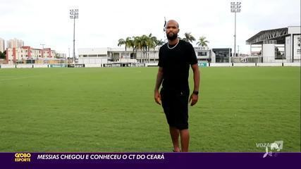 Messias conhece CT do Ceará