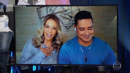 Carla Perez e Xanddy contam como se conheceram