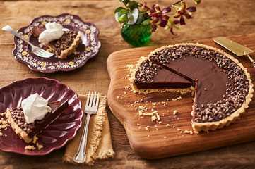Torta fácil de chocolate da Rita Lobo