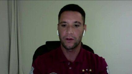 Thiago Neves fala sobre recuperação e volta ao ritmo de jogos após se recuperar da Covid-19