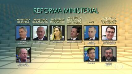 Bolsonaro oficializa reforma ministerial com seis mudanças; saiba quem entra e quem sai