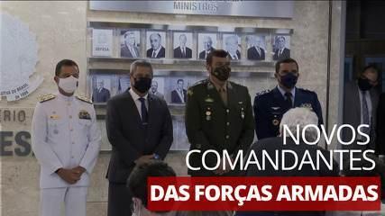 Ministro da Defesa anuncia novos comandantes das Forças Armadas