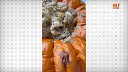 A chef Camila Botelho ensina uma receita de jaca na moranga para o almoço de Páscoa