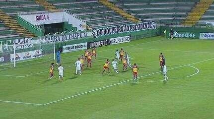 Chapecoense 0 x 0 Brusque: Assista aos melhores momentos da partida