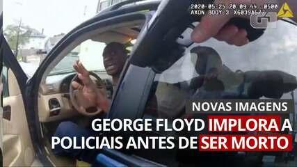 VÍDEO: Novas imagens mostram George Floyd implorando a policiais antes de ser morto