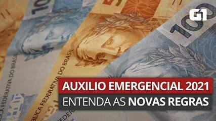 VÍDEO: Auxílio Emergencial 2021 - entenda as regras da nova rodada
