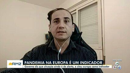 Especialista do AM faz panorama da pandemia no Amazonas
