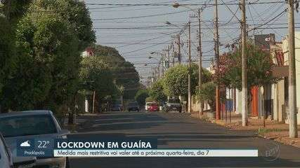 Contra a Covid-19, Guaíra, SP, fecha supermercados e impõe confinamento