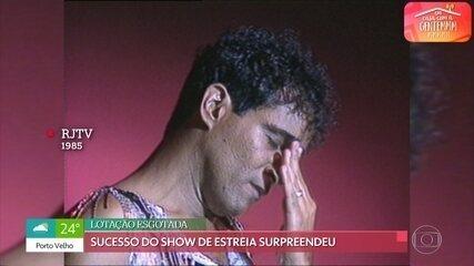 Elymar Santos relembra ousadia de alugar uma casa de show antes de ser conhecido