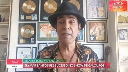 Elymar Santos conta como foi apadrinhado por Cauby Peixoto
