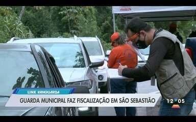 Guarda Municipal faz fiscalização em São Sebastião