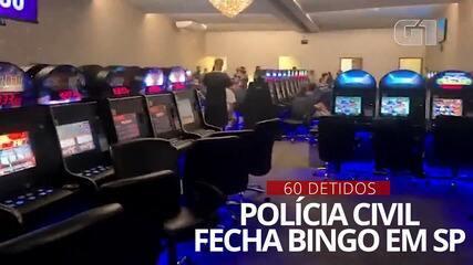 Polícia Civil fecha bingo na Zona Sul de São Paulo