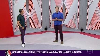 Cabral Neto avalia fase do Santa, fora do Nordestão, mas vivo na Copa do Brasil e Estadual