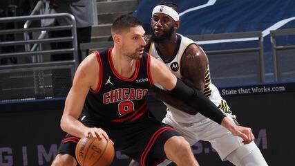 Melhores momentos de Indiana Pacers 97 x 113 Chicago Bulls pela NBA
