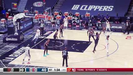 Melhores momentos de Portland Trail Blazers 116 x 133 Los Angeles Clippers pela NBA