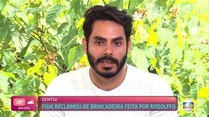 Rodolffo fala sobre comentário que fez sobre a roupa de Fiuk