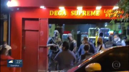 Força-Tarefa fecha lounge na Zona Leste da capital que funcionava mesmo com restrição