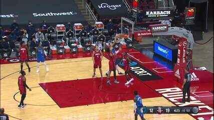 Melhores momentos: Houston Rockets 102 x 93 Dallas Mavericks pela NBA