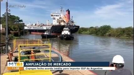 Copagaz fecha acordo inédito para importar GLP da Argentina