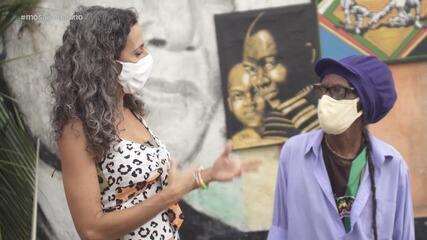 Maria conhece uma turma que leva arte e culinária às ruas da Liberdade