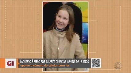Preso em Teutônia suspeito pela morte de menina de 13 anos em Bom Princípio, diz polícia