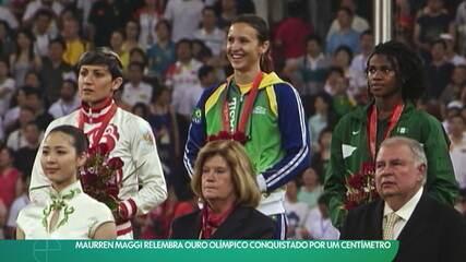Maurren Maggi relembra ouro olímpico conquistado por um centímetro