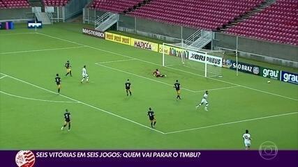 Náutico vence a sexta partida em seis jogos com pelo Campeonato Pernambucano