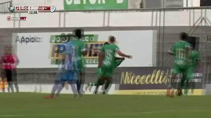 Com dois gols de Jobson, União bate o Ji-Paraná