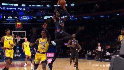 Melhores momentos: Los Angeles Lakers 96 x 111 New York Knicks pela NBA