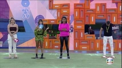 Jogo da Discórdia: Thaís monta seu pódio e indica quem não vai ganhar o BBB21