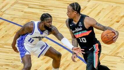 Melhores momentos: Orlando Magic 97 x 120 San Antonio Spurs pela NBA