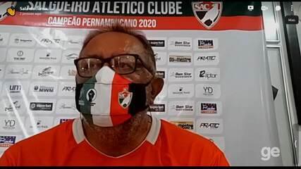 Presidente do Salgueiro fala sobre situação financeira do clube