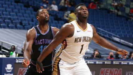 Melhores momentos: New Orleans Pelicans 117 x 110 Sacramento Kings pela NBA
