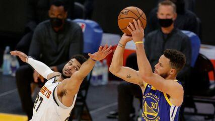 Melhores momentos: Golden State Warriors 116 x 107 Denver Nuggets pela NBA