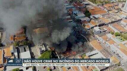 Laudo aponta que incêndio que destruiu Mercadão de Limeira não foi criminoso