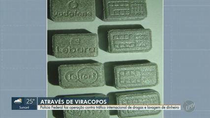 PF faz operação contra tráfico de drogas e lavagem de dinheiro no aeroporto de Viracopos