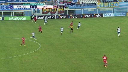 Melhores momentos: Paysandu 1 x 2 CRB, pela segunda fase da Copa do Brasil